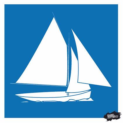 GRAFIKEN Segelboot IV