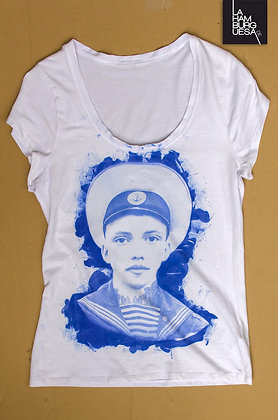 "T-Shirt ""Sailor"" - Unikat"