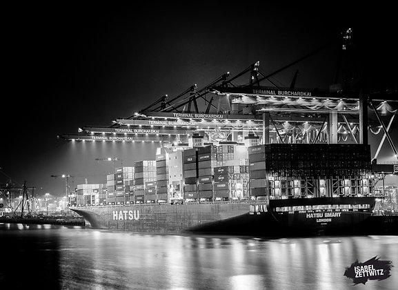 Containerschiff HATSU SMART