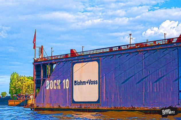 GRAPHIC NOVELS: Blohm & Voss Dock 10