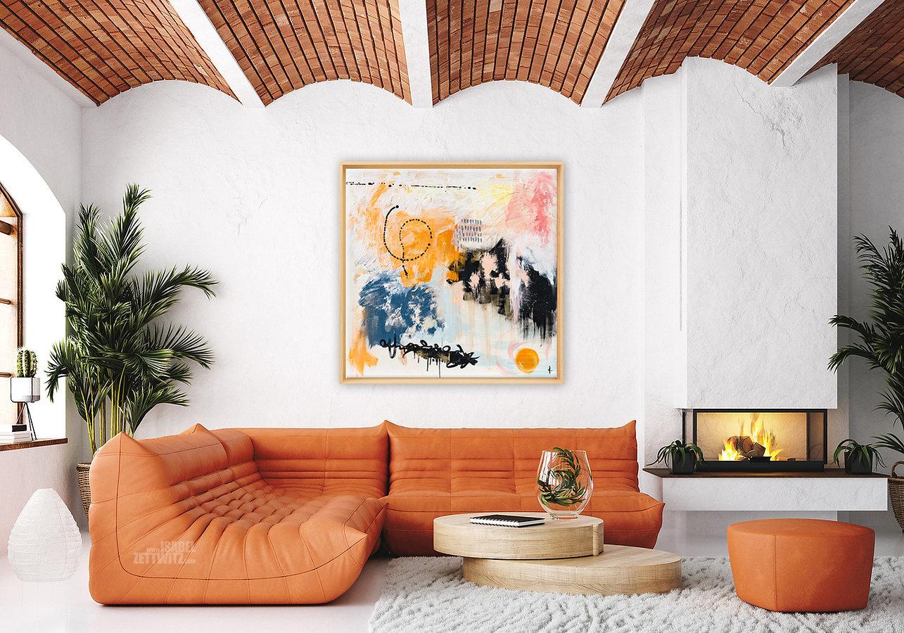 Wandkunst - Bild aus der Serie Abstrakt von Isabel Zettwitz
