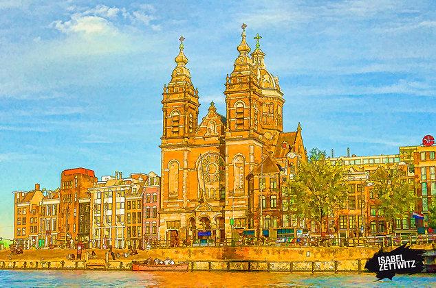 GRAPHIC NOVELS AMSTERDAM: Sint Nicolaaskerk