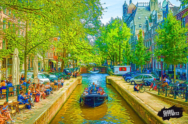 GRAPHIC NOVELS AMSTERDAM: Grachtensymetrie