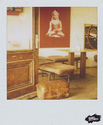 POLAROID PRINT Buddha
