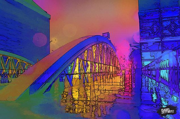 GRAPHIC NOVELS: Brücke in der Speicherstadt
