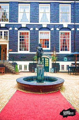 GRAPHIC NOVELS AMSTERDAM: Innenhof