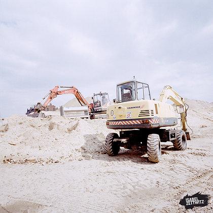 Bau der Hafencity III