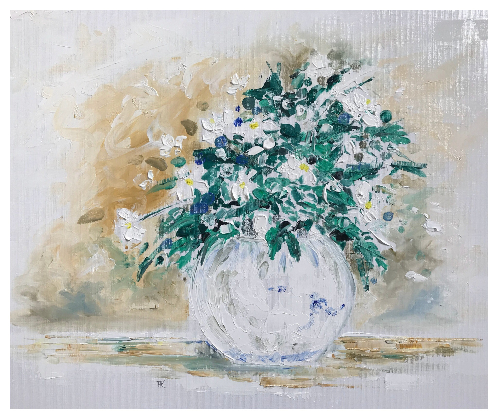Clematis in a Bowl II