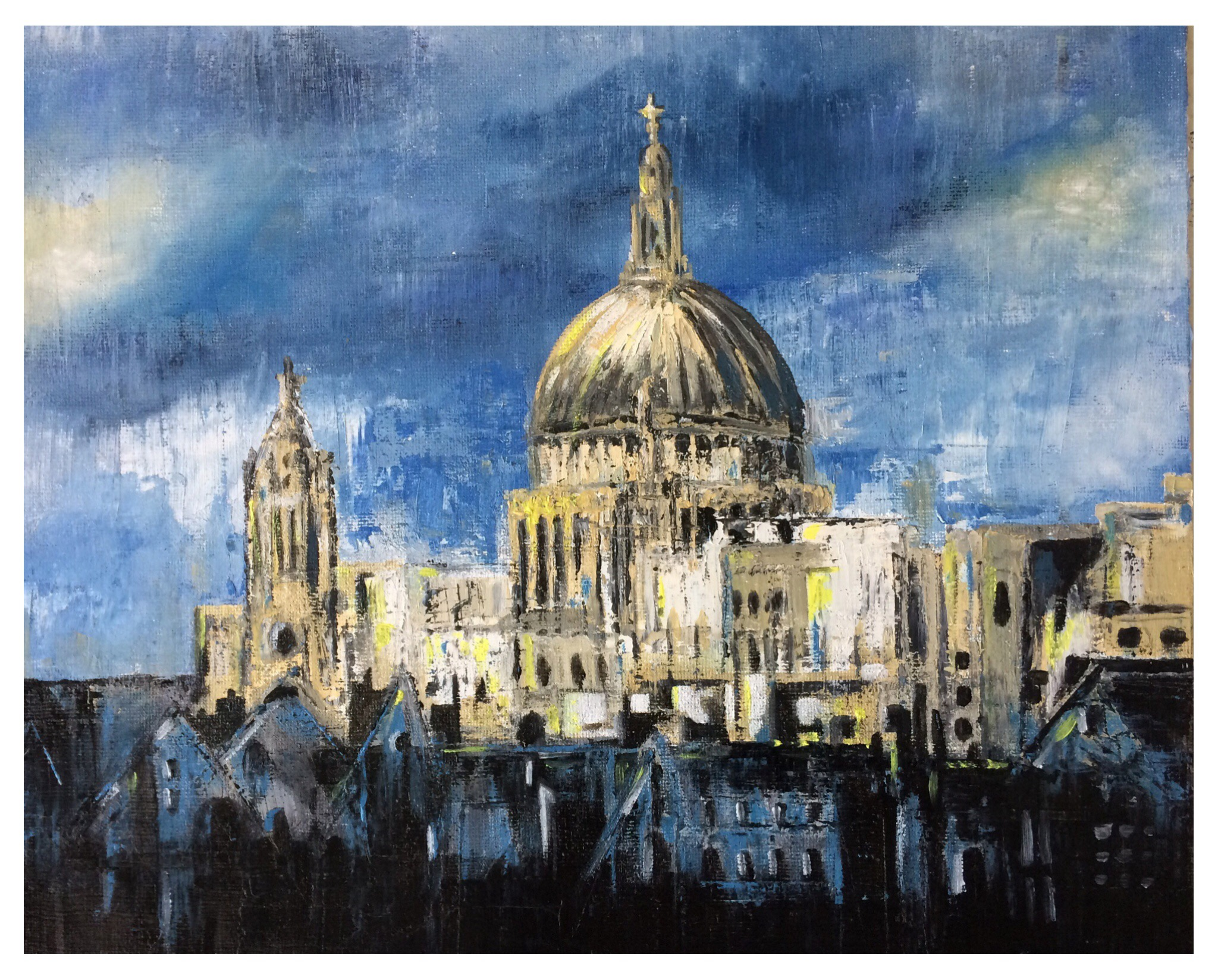 Rooftops and St Pauls