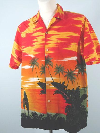 """Original vintage Herren Hawaii-Hemd von """"RJC"""" -  GrößeXL"""