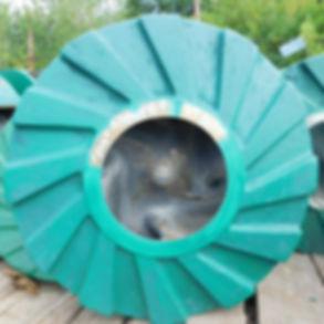 Рабочее колесо ГрАТ 1800/67