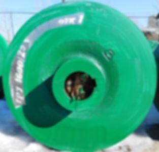 ГрУ 1600/25 Рабочее колесо