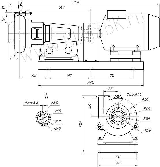 грунтовый насос ГР 400/40, грунтовый насос 8ГР-8