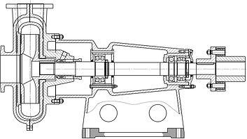 Насос ГРТ 400/40, насос 8ГРТ-8