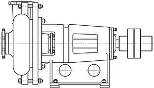 Шламовый насос 6ФШ-7А, Гр 200/60