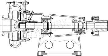 Насос ГР 400/40, насос 8ГР-8