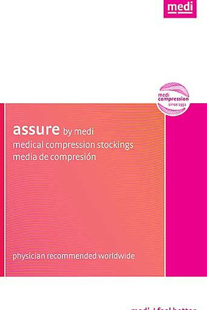 Mediven Assure 15-20 mmHg Closed Toe Pantyhose