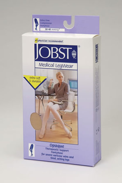 Jobst Opaque Pantyhose 30-40 mmHg Extra Firm Support