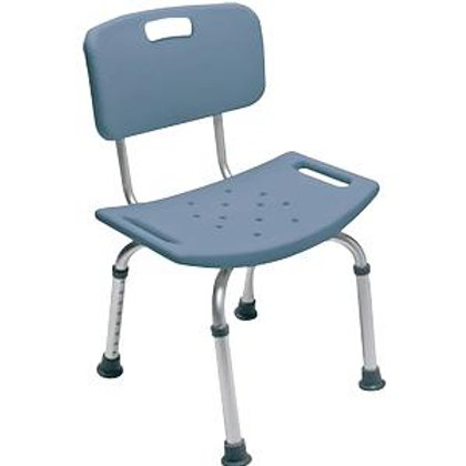 GF Health Lumex Platinum Collection Bath Seat with Backrest Steel