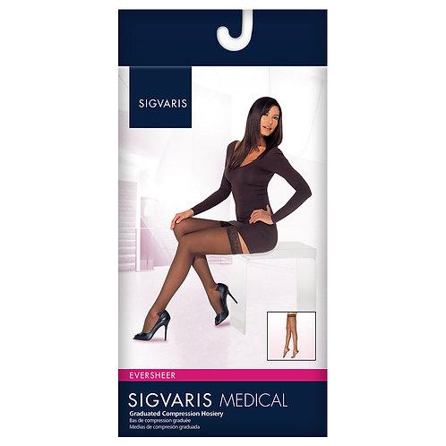 Sigvaris 780 Eversheer 15-20 mmHg Women's Closed Toe Thigh Highs