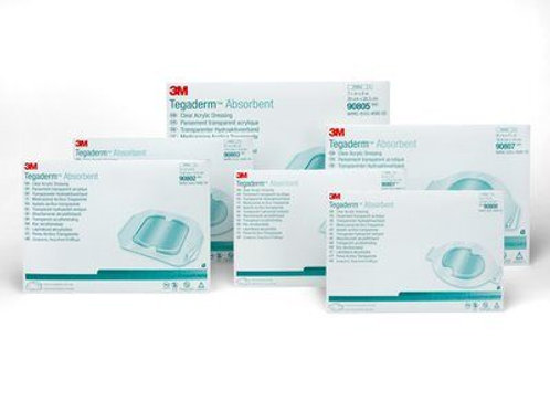 3M™ Tegaderm™ Absorbent Clear Acrylic Dressing