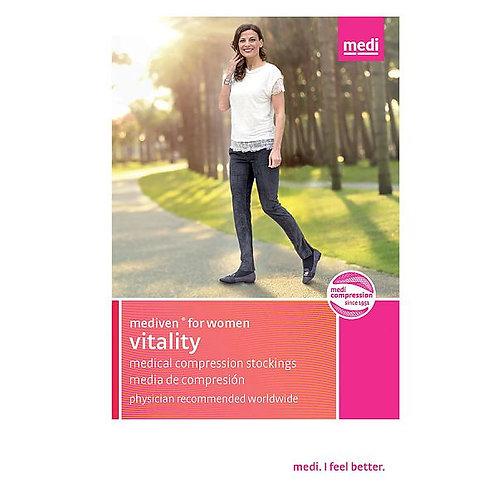 Mediven For Women 15-20 Mmhg Vitality Knee Highs