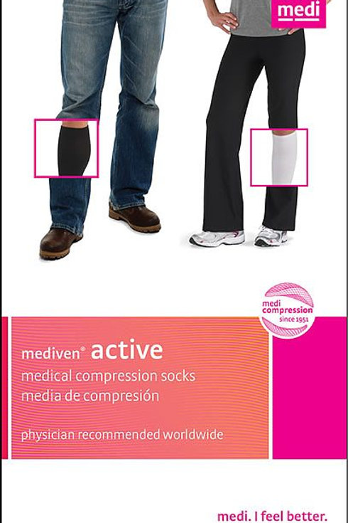 Mediven Active 15-20 Mmhg Athletic Socks