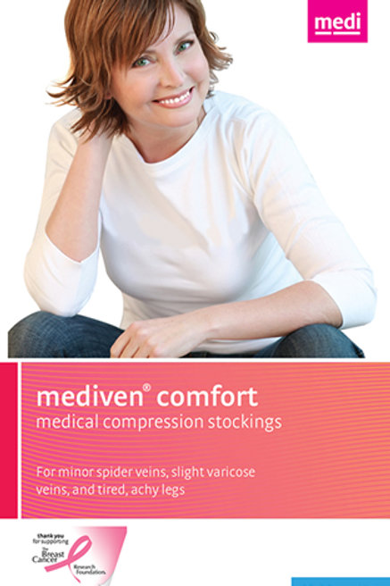 Mediven Comfort 15-20 Mmhg Open Toe Knee Highs
