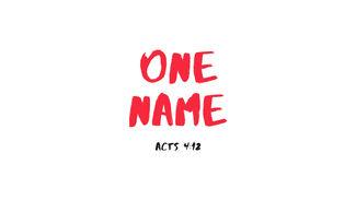 One Name - Matt Kane