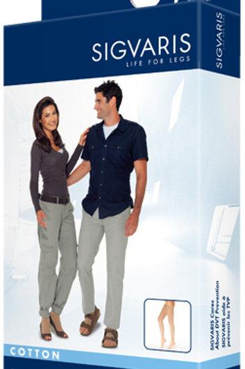 Sigvaris 230 Cotton Series 30-40 mmHg Open Toe Thigh Highs