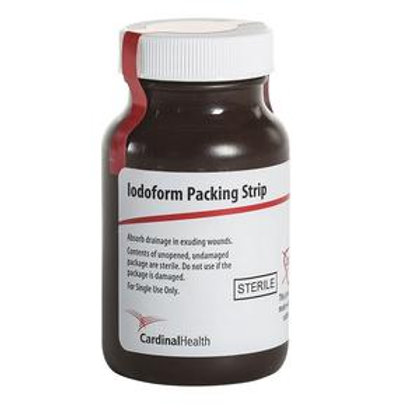 Cardinal Health™ Sterile Iodoform Packing Strip