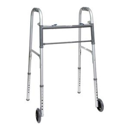 PMI ProBasics™ Economy Two-Button Steel Patient Walker