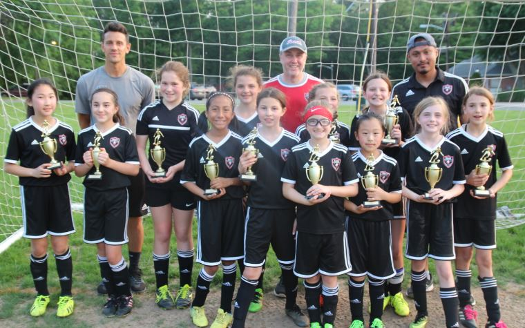 2008 Girls Black flight champions