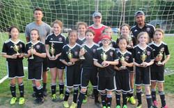 2008 Girls Black flight champions
