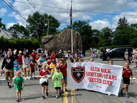 Shooting Stars Celebrate Independence