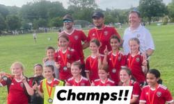2011 Girls Red winning Ridgewood Tournament