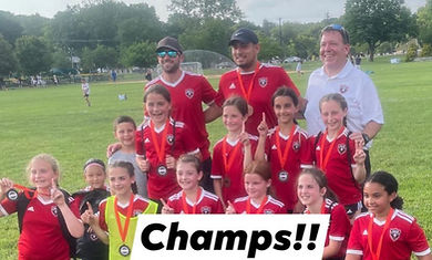 2011 Girls Red winning Ridgewood Tournament.JPG