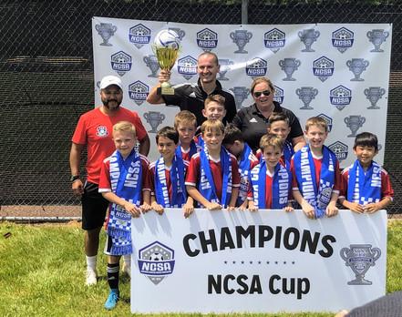 2010 Boys, Cup Winners