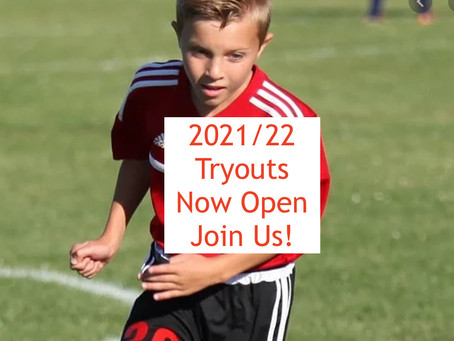 2021/22 Shooting Stars Tryouts - Now Open!
