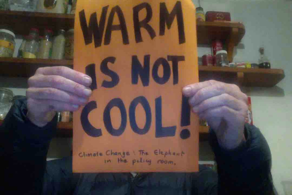 WARM iS NOT COOL poster