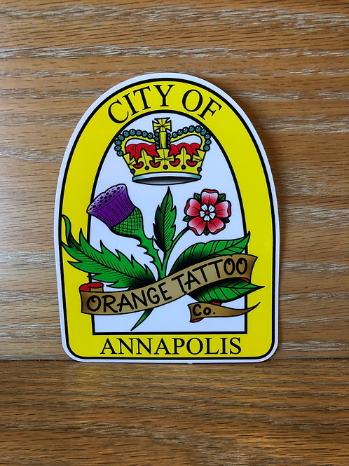 OTC City Of Annapolis Seal Decal