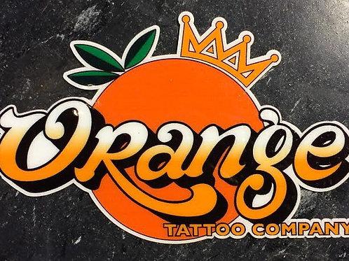 OTC Orange & Crown Logo Decal