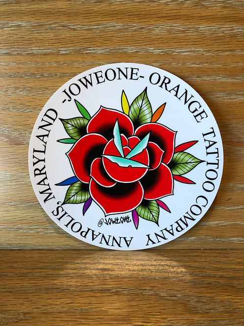 OTC Joweone Rose Decal
