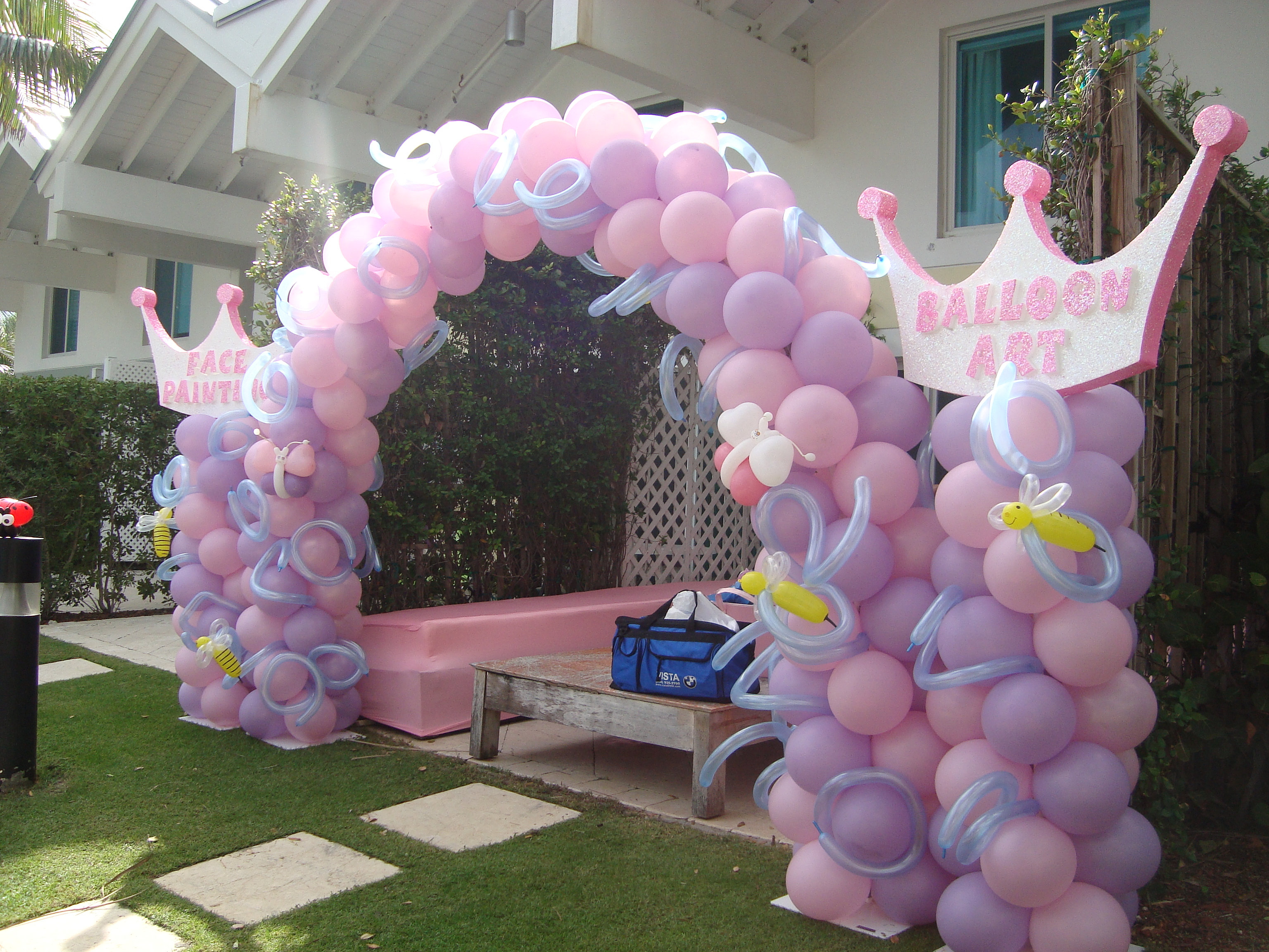 Princess Balloon Decoration Brand Marketing Promotions Special Events Balloon Decoration