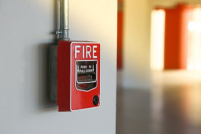 Fire alarm switch on the wall..jpg