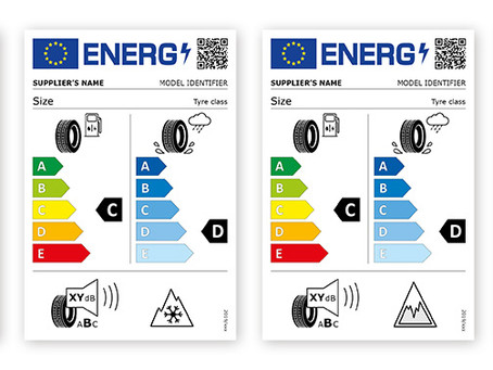New EU Tyre Label..New UK Law 1st May 2021