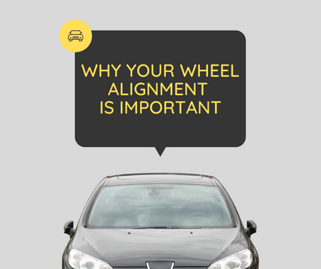 Why your wheel alignment is important. Free check at Sunset Tyres