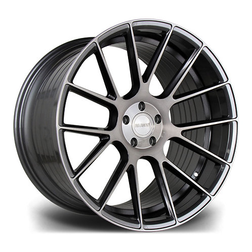 Riviera Rf104 20x9 5x120 35 72.5 Carbon Grigio