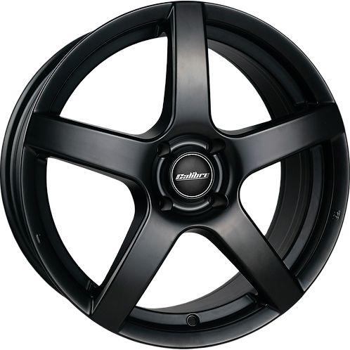 Y7705112SB7045 Calibre Pace Satin Black 17 Inch 7J 45 Offset 5x112 73.1mm