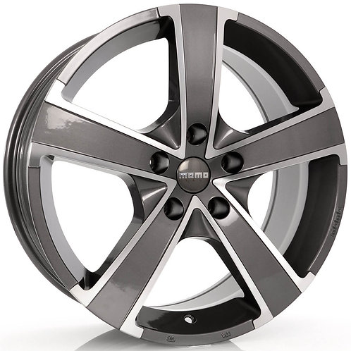 WWPE65538500 MOMO Win Pro Evo Glossy Anthracite Polished 15 Inch 6.5J 38 Offset